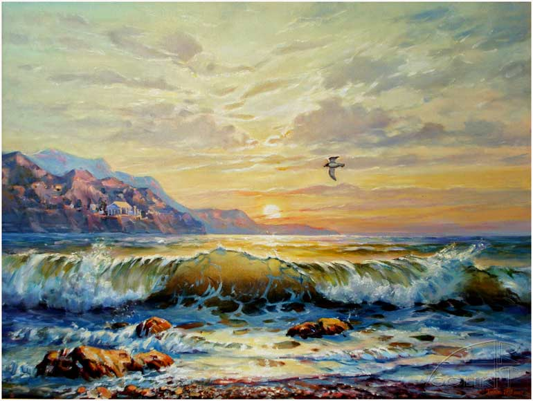Αποτέλεσμα εικόνας για πινακες ζωγραφικής θαλασσα