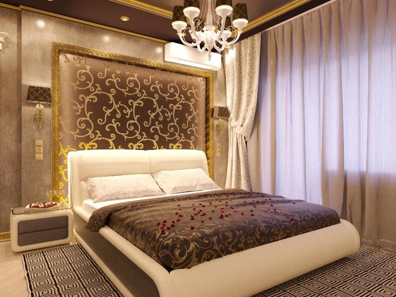 дизайн интерьера спальни 6