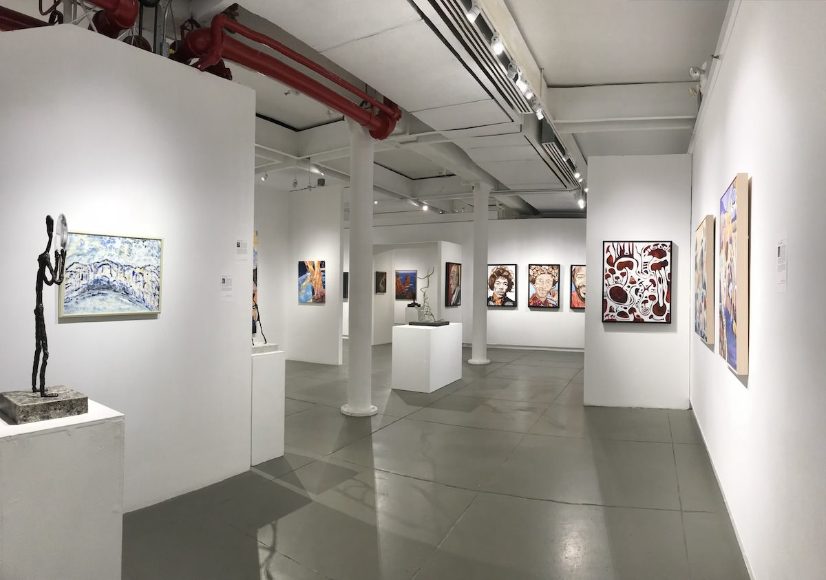 variety of mediums on view at Agora Gallery