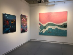 installing and displaying art