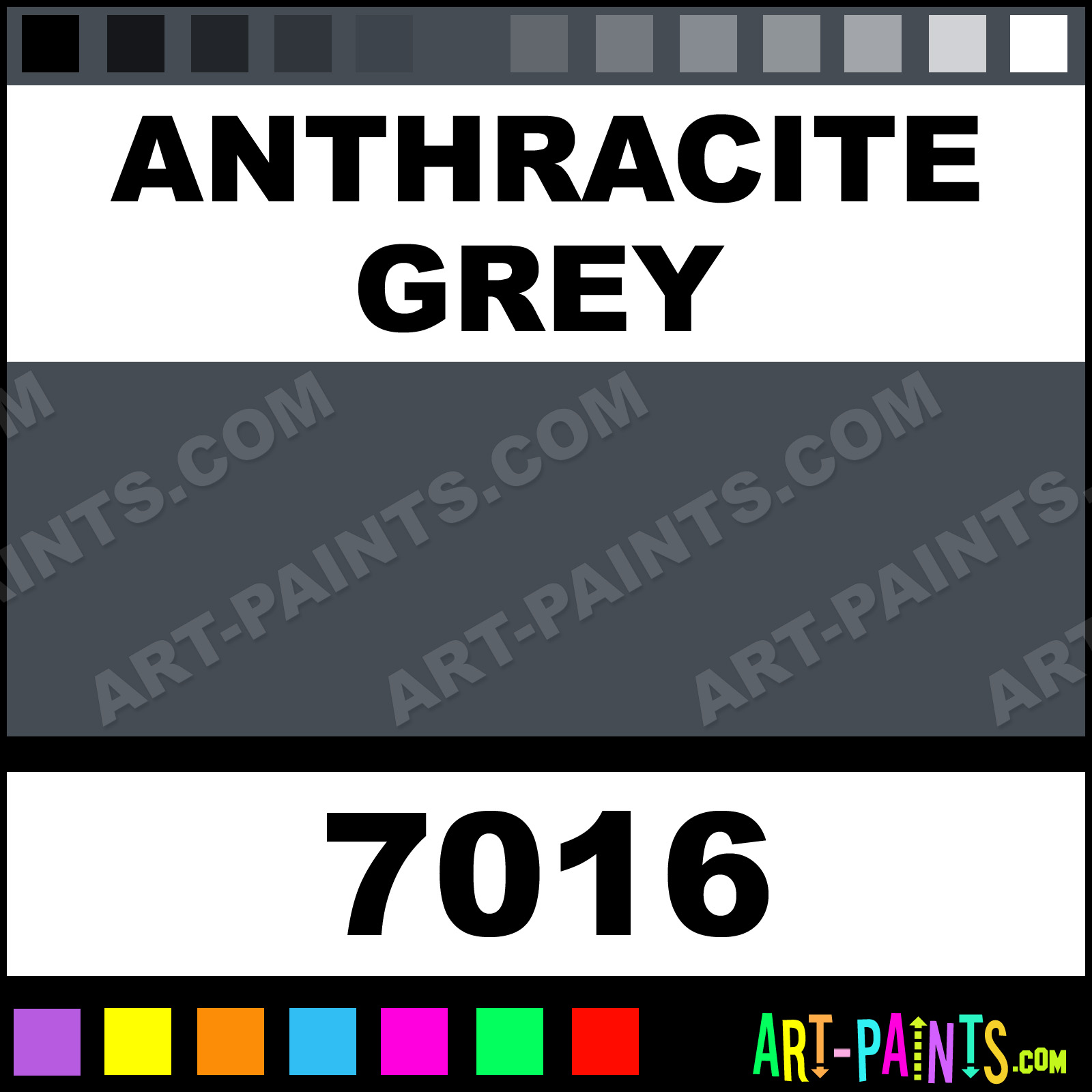 Anthracite Spray Paint