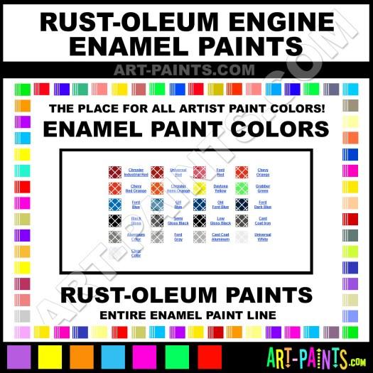 Ford Dark Blue Paint 248959 By Rust Oleum Engine Enamel Paints