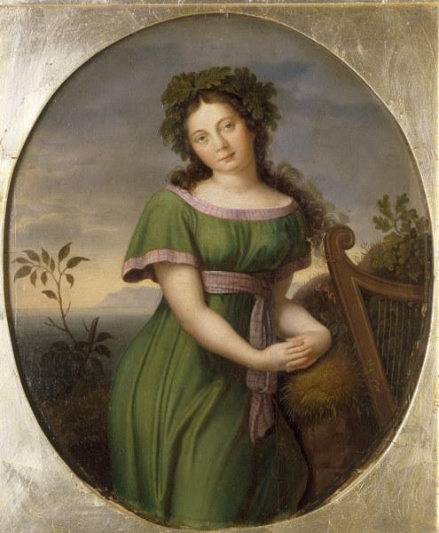 Friedrich Wilhelm von Schadow - Pauline Anna Milder-Hauptmann , Schadow