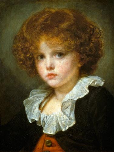 Jean Baptiste Greuze - Boy in a Red Waistcoat