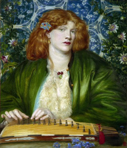 Image result for the blue bower rossetti