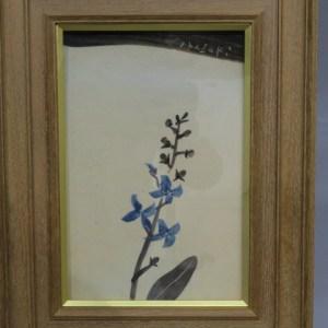 香月泰男 青い花陶板