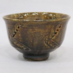 浜田庄司 飴釉茶碗