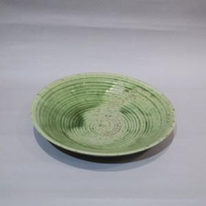 加守田章二 灰釉鉢