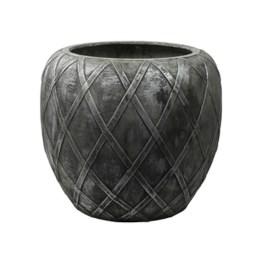 Pot wire coppa silver grey