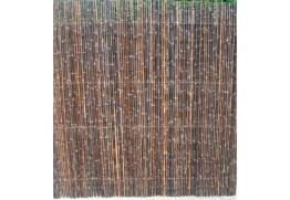 natte bambou noir
