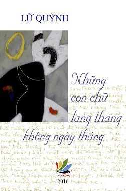 Image result for bìa sách những con chữ lang thang của lữ quỳnh