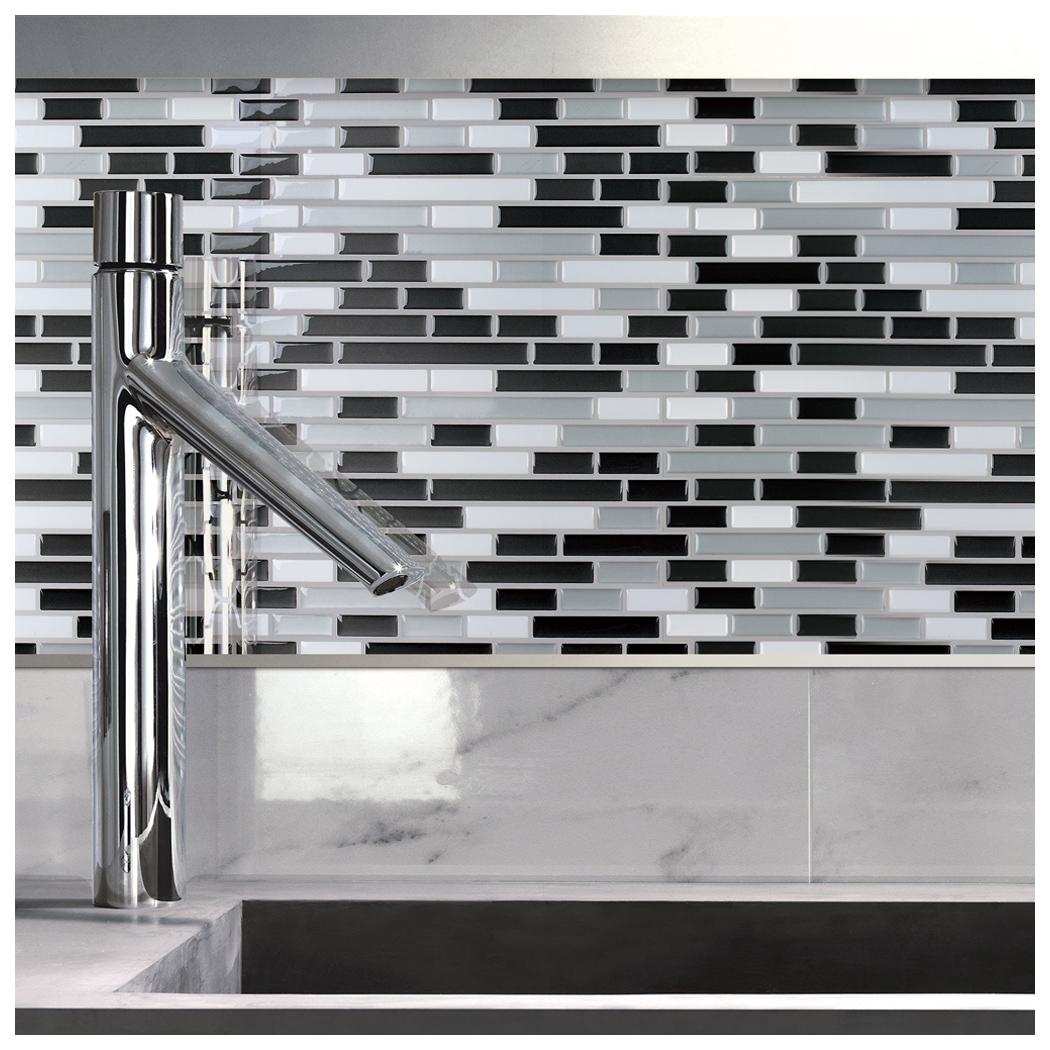 a17002 peel and stick backsplash tile for kitchen 12 x12 set of 10