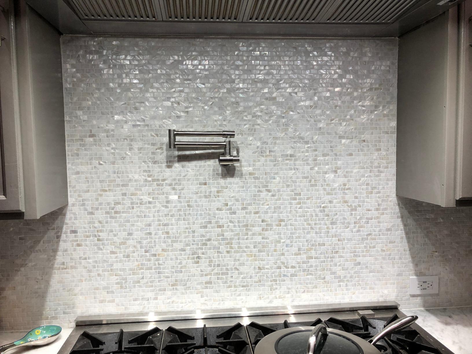 a18019 mother of pearl tile for kitchen backsplash 12 x12 subway white