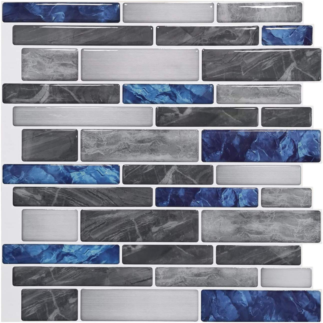 vinyl peel and stick backsplash tile