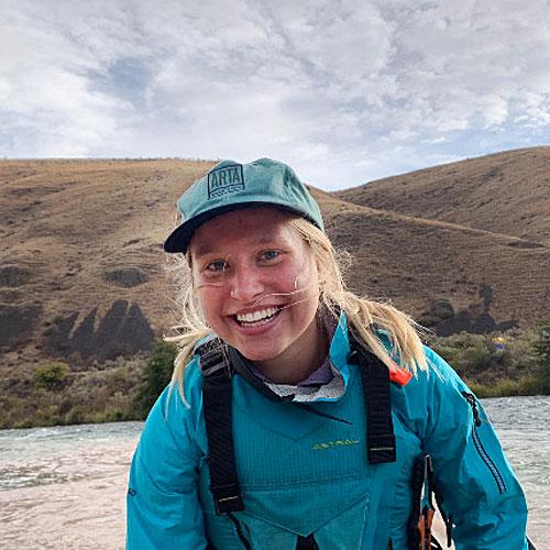 Casey Mathews, river guide for ARTA River Trips