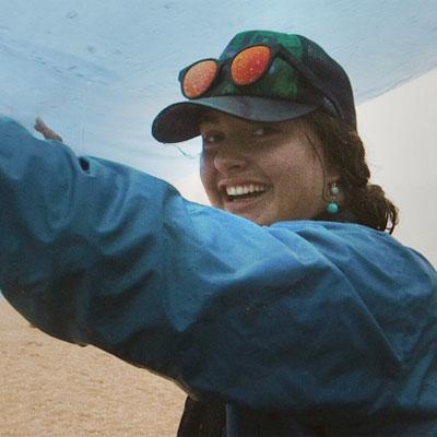 Eva Bol, river guide for ARTA River Trips