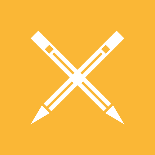 icon of pencils making an X