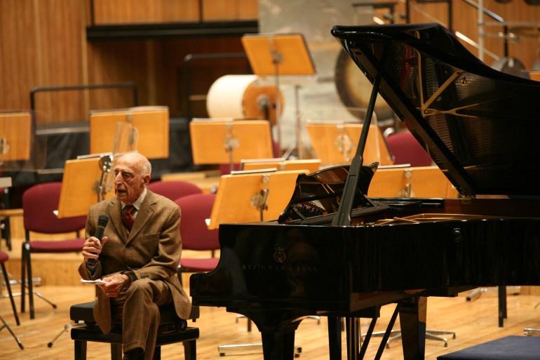 Milano, Conservatorio, Gillo Dorfles, Ensemble intercontemporain diretta da Susanna Mälkki, musiche di Olivier Messiaen ©Lelli e Masotti