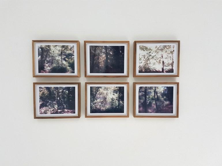 Vincenzo Castella: da Castelseprio - Varese 2008 e 2009 e Passo del Bracco - Levanto 2008, 2012 - polaroid, 21,3x27,4cm cad.