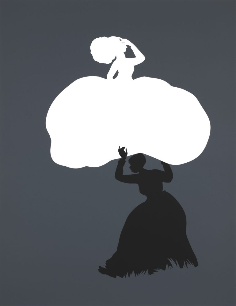 "Kara Walker: ""Emancipation Approximation, Scene No. 18,"""