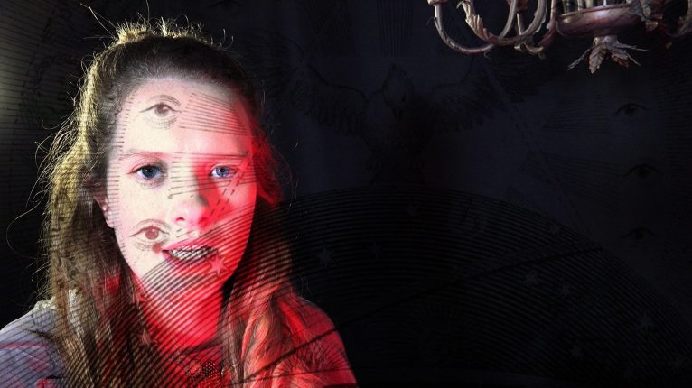 Tony Oursler: Le Volcan, 2015-16 - still da video | courtesy Dep Art Gallery, Milano