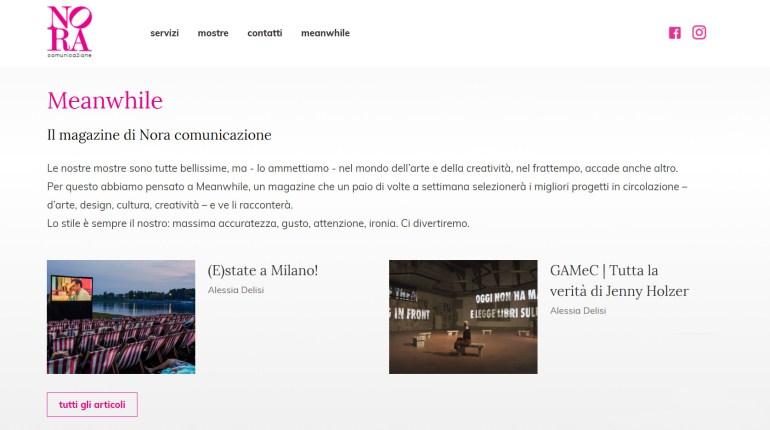 NORA comunicazione: homepage