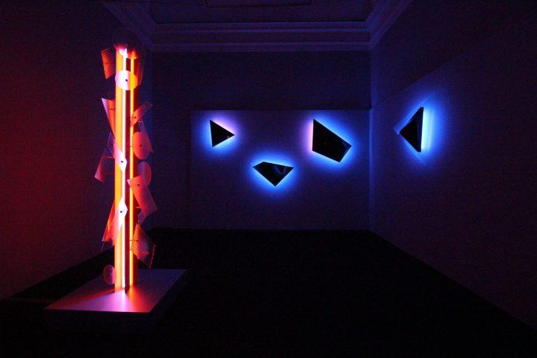 Nanda Vigo, Palazzo Reale, Milano, 2019: Neverended light and Galactica sky