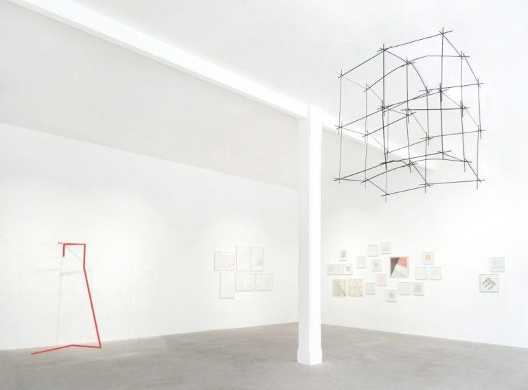 Noire Gallery: Veduta della mostra Alfabeta, Leonardo Mosso & BRH+- Torino - 2019