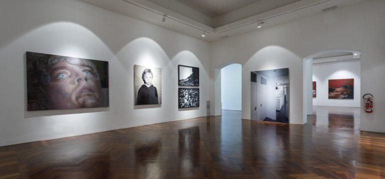 CSArt: Veduta della mostra OVERSIZE. Grandi capolavori dalle collezioni del CAMeC, La Spezia - 2019
