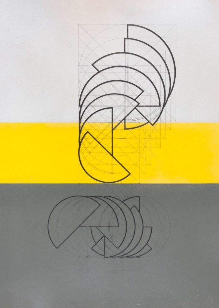 Annamaria Gelmi: Doppia Rotazione, 1977