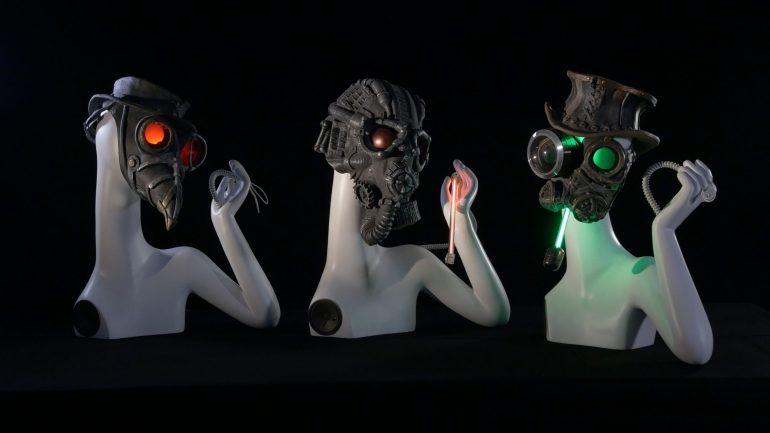Ale Guzzetti: Dies Irae Gregorian robotic choir, 2014