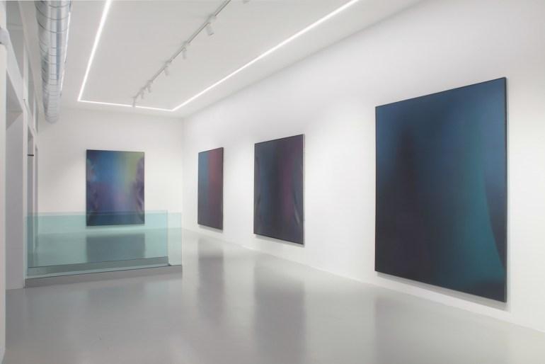 Claudio Olivieri  Installation view:  La luce è sempre la prima luce | Osart Gallery, Milano 2017
