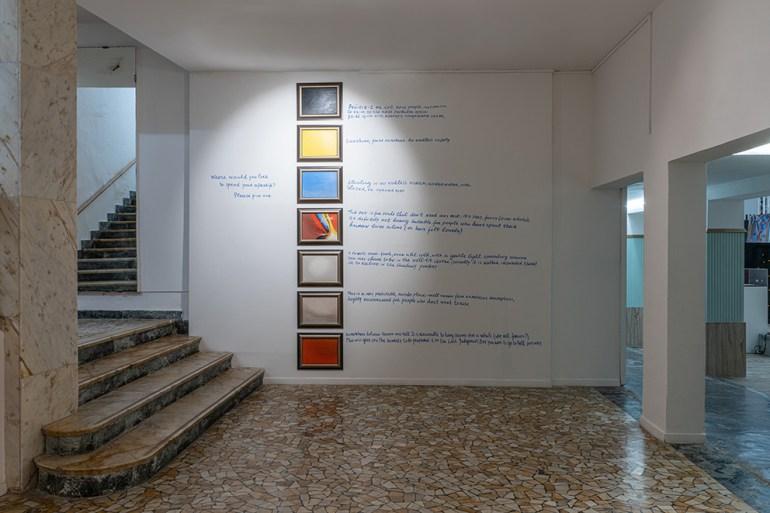 The Artist-Collector Dream Galleria Continua San Gimignano Nedko Solakov: Afterlife options (2008)