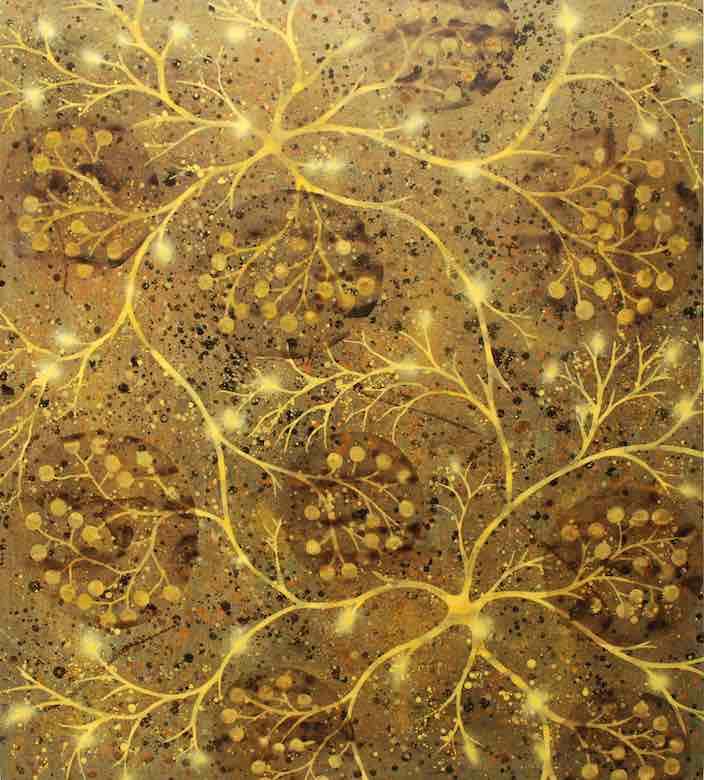 Alberto Di Fabio: Sinapsi in oro, 2007
