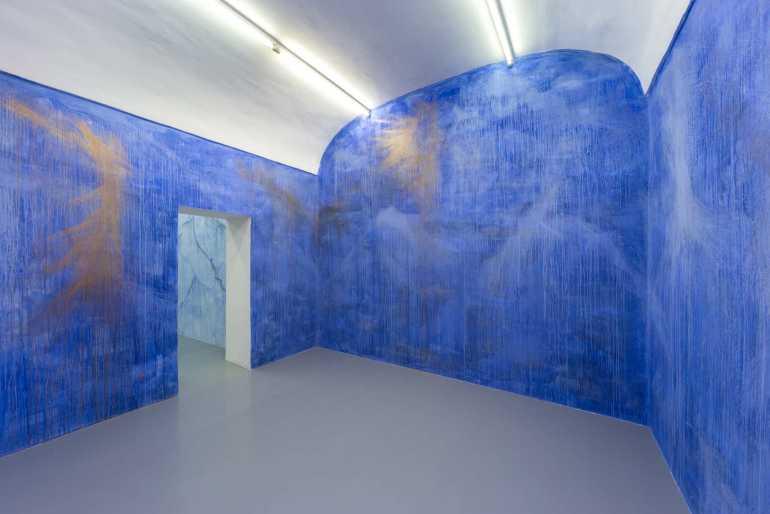 Alberto Di Fabio: Stanze dei sogni, 2017 – Wall Painting, Galleria Umberto Di Marino, Napoli