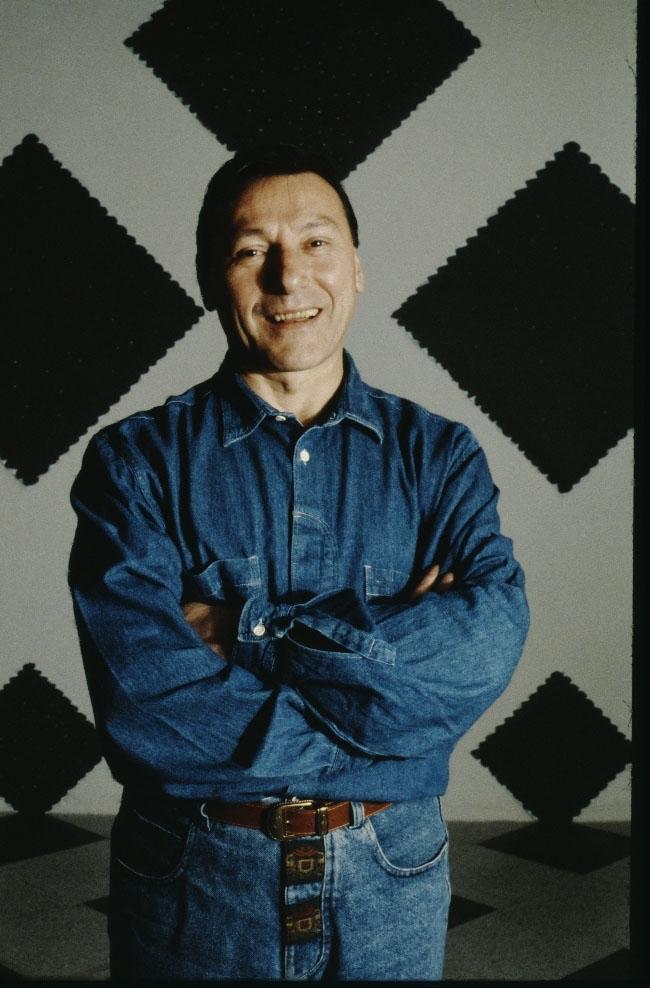 Ritratto di Antonio Scaccabarozzi, 1994 | ph. Monica Vinella