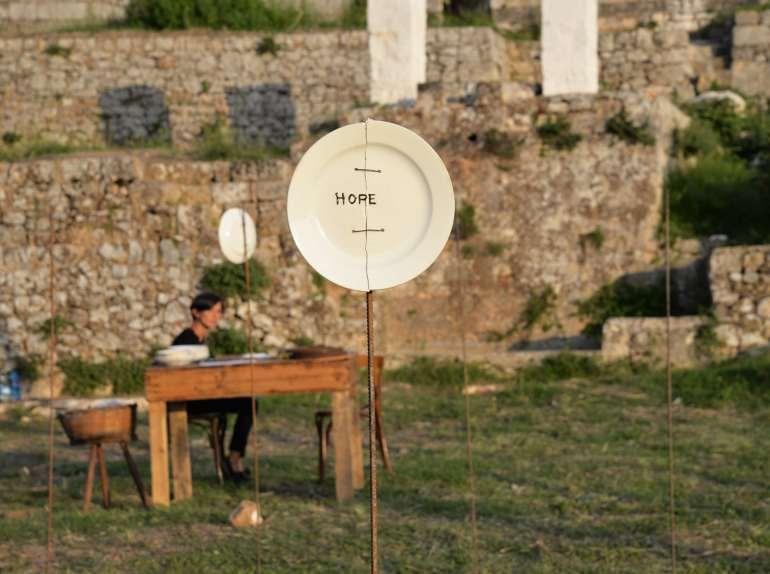 ArTalkers.it | Elena Bellantoni: Parole Cunzate, 2015 - performance installazione