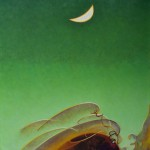 Agnes Pelton, Spring Moon, 1942.