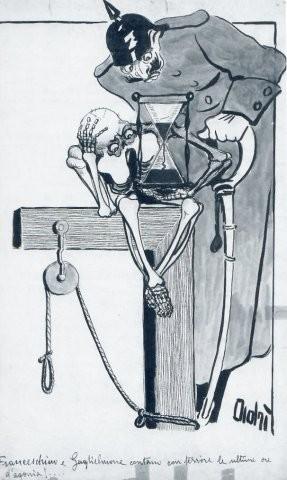 caricatura di adriana bisi fabbri