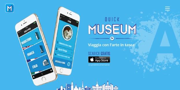 quickmuseum l'app per scoprire l'arte in modo insolito