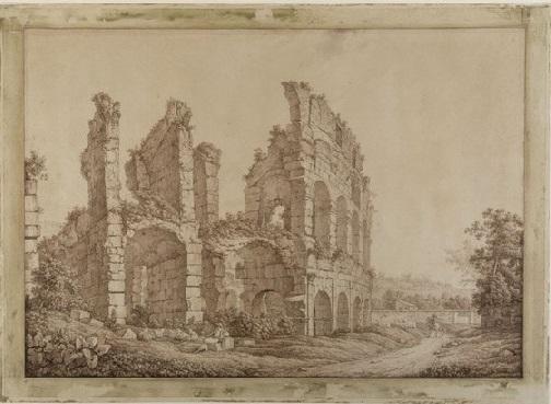 il colosseo disegnato da christoph heinrich kniep