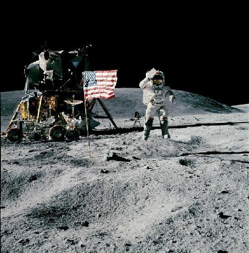 sbarco dell'uomo sulla luna foto tratta dal sito di palazzo blu