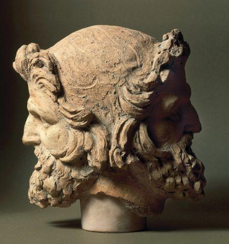 testa giano bifronte etruschi
