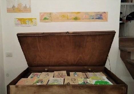 part 1 in mostra alla galleria bonomo di roma