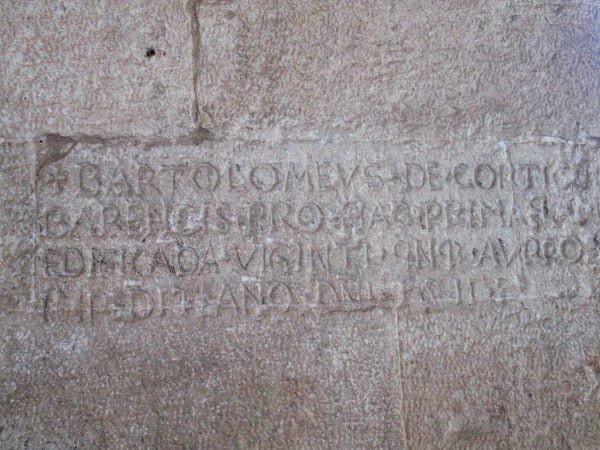 san francesco della scarpa epigrafe
