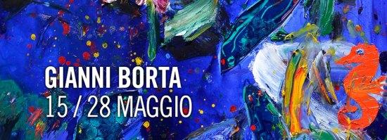 """15 Maggio Trieste- Galleria Rettori Tribbio presenta: Gianni Borta """"Amarcord"""""""