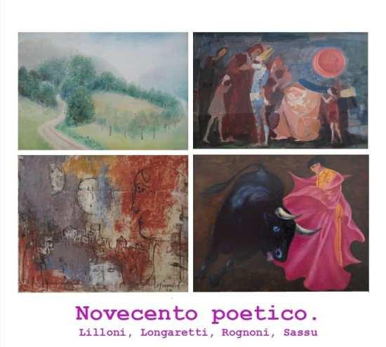 """Brescia: Collettiva """"Novecento poetico"""". Lilloni, Longaretti, Rognoni, Sassu, a cura di Vera Agosti, dal 16 settembre al 31 ottobre 2021."""