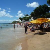 la spiaggia di barra di salvador
