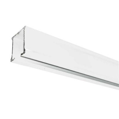 rail rideau cs blanc sans accessoires 201 cm a 300 cm