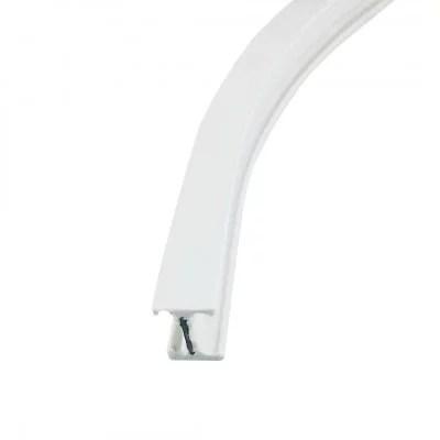 rail rideau flexible blanc au metre